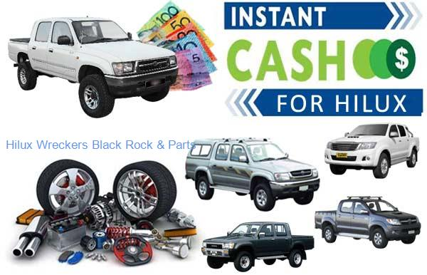 Affordable Parts at Hilux Wreckers Black Rock