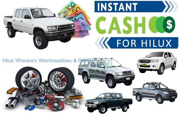 Discounted Parts at Hilux Wreckers Westmeadows