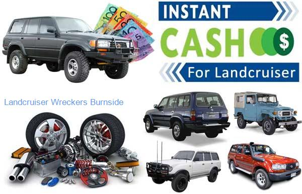 Selling Parts at Landcruiser Wreckers Burnside