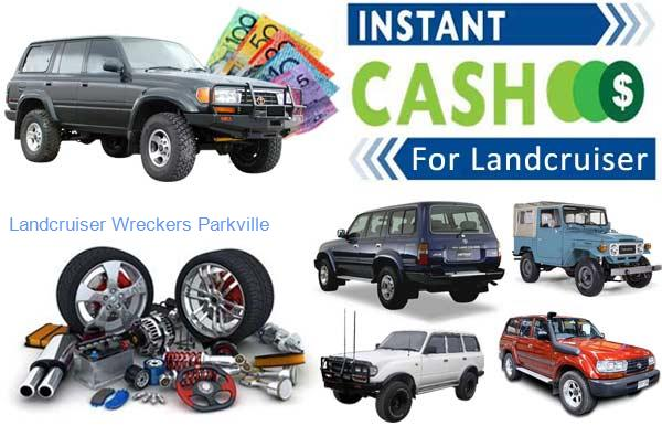 Selling Parts at Landcruiser Wreckers Parkville