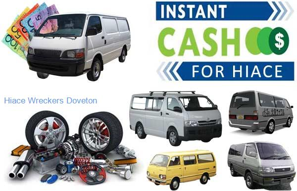 Hiace Wreckers and Discounted Parts