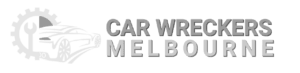 car wrecker melbourne logo white