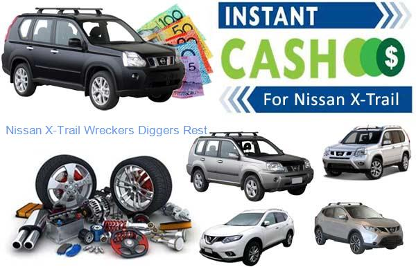 Nissan X-Trail Wreckers Diggers Rest VIC